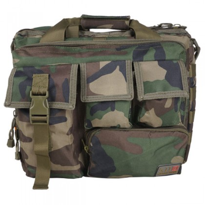 Deltacs Assault Camo Carrying Laptop Bag - Woodland