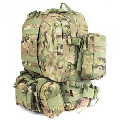 Deltacs 3-Day Assault Tactical Camping Backpack - Multicam