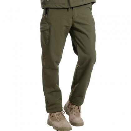 Deltacs Shark Skin SoftShell Water Resistant Combat Pants - OD Green
