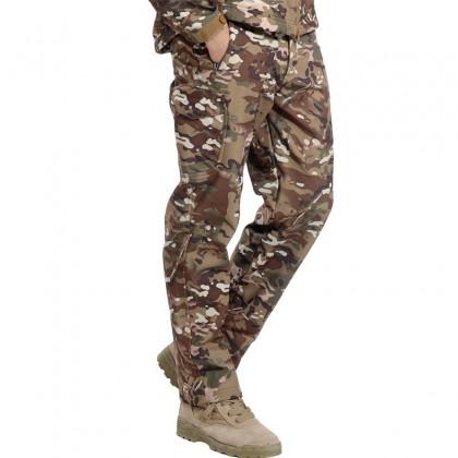 Deltacs Shark Skin SoftShell Water Resistant Combat Pants - Multicam