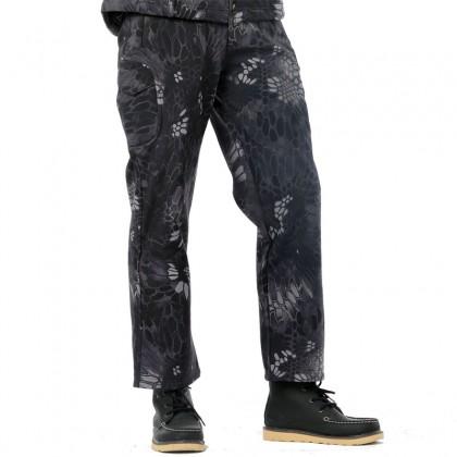 Deltacs Shark Skin SoftShell Water Resistant Combat Pants - Typhoon