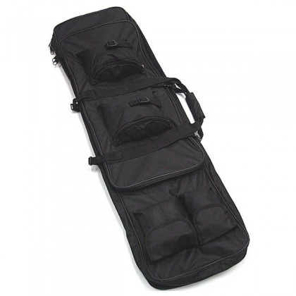 Deltacs Airsoft/Paintball Dual Rifle Carrying Bag(120cm) - Black