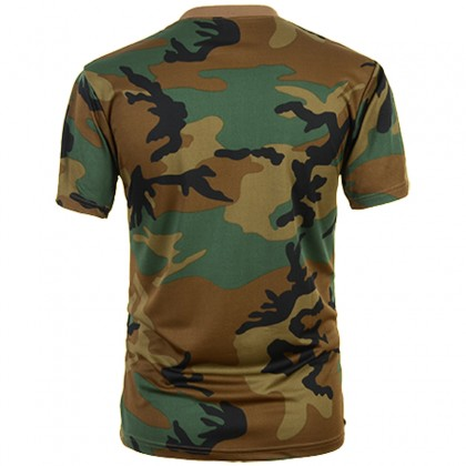 Deltacs Camouflage Quick Dry T-Shirt
