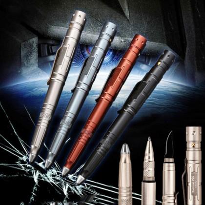 Multifunction 4 in 1 Self Defense Tactical Survival Pen