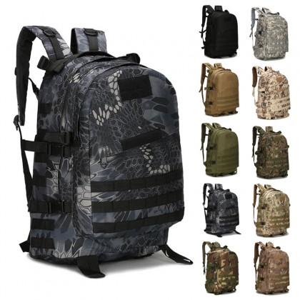 3D Tactical Hiking 40 Litre Backpack