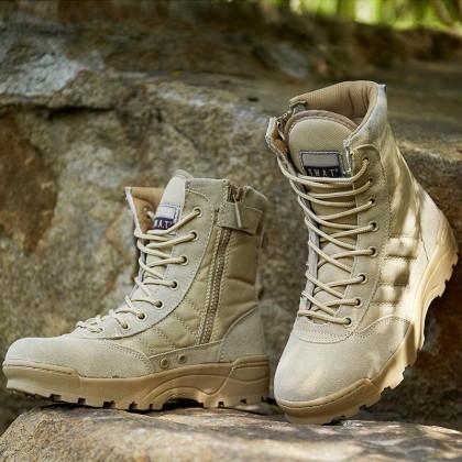 Combat Swat Army Military Hiking Tactical Boots Kasut Operasi