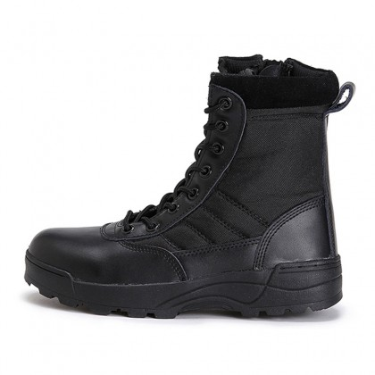 Combat Swat Steel Toe and Steel Midsole Safety Boots Army Military Hiking Tactical Swat Boots Kasut Operasi